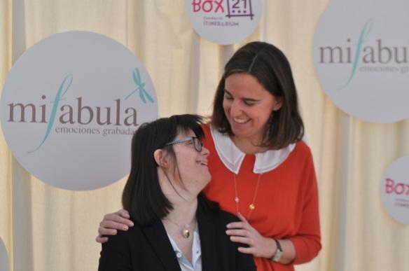 Acto de presentación de la joya de Anna Vives para Mifabula