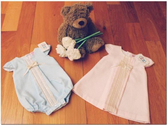 Conjuntos para bebé primavera-verano 2014, Bolitas de Algodón