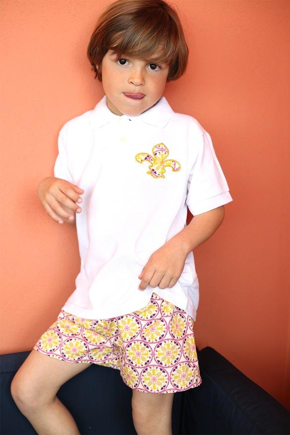 Polo y pantalón niño Leo&Cleo, primavera-verano 2014