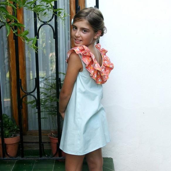 Vestido Aaricia modelo 15 Leo&Cleo, primavera-verano 2014