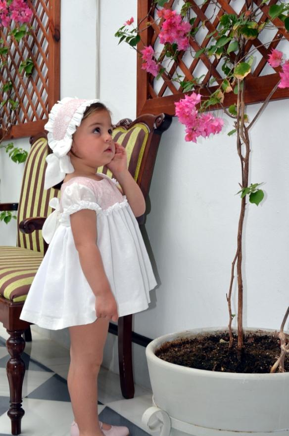 Vestido bodoques niña, Micaela Micaelo primavera-verano 2014