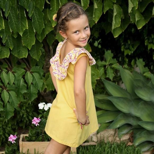 Vestido modelo 16 Aurora Leo&Cleo, primavera-verano 2014