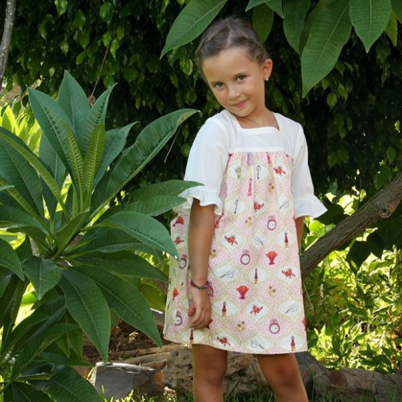 Vestido modelo 2 Alba Leo&Cleo, primavera-verano 2014