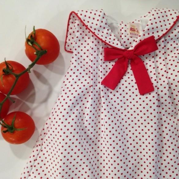 Vestido niña, de  Raixa moda infantil