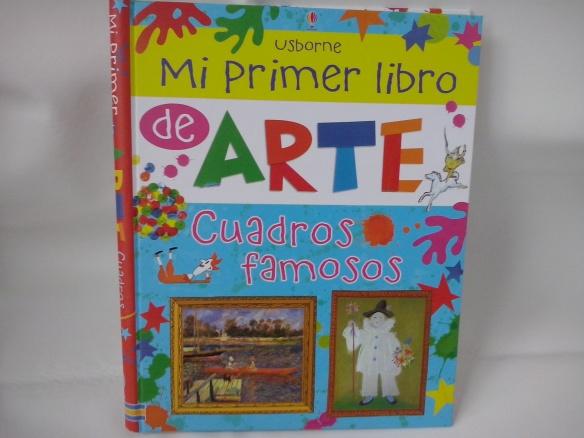 Mi primer libro de arte, de Usborne