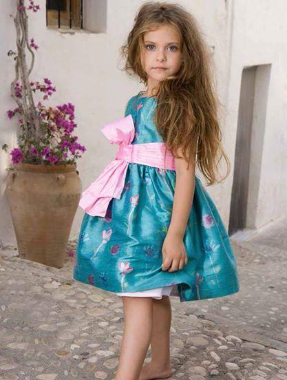 Vestido de ceremonia de Creaciones Torres, primavera-verano 2014