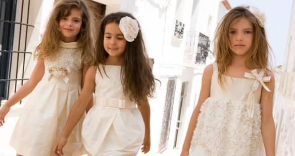 Vestidos para ceremonias de Creaciones Torres primavera-verano 2014
