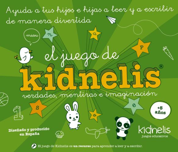 Kidnelis verdades mentiras e imaginación, juego para mejorar la lectoescritura