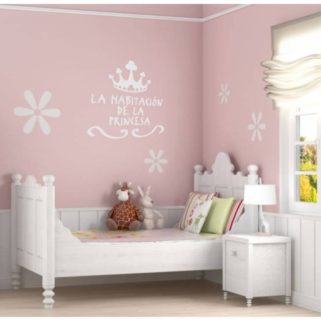 Imagenes de decoraci nes para una habitacion de dos ni as for Vinilo habitacion bebe nina