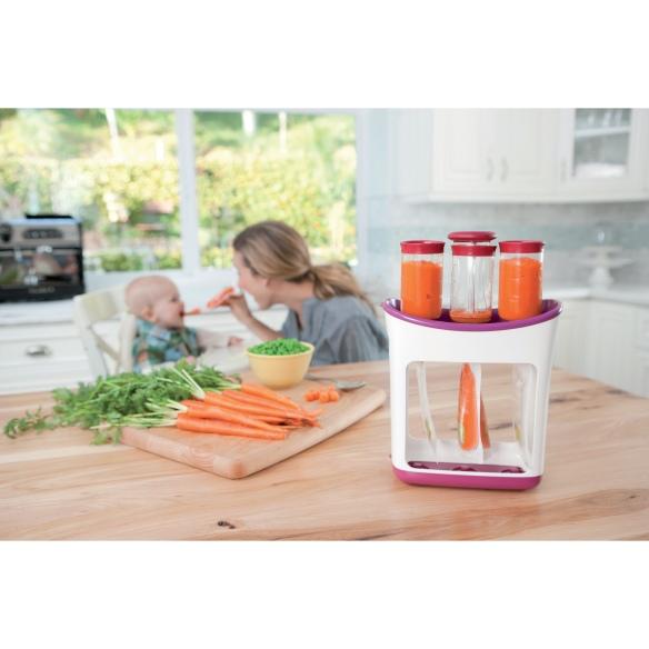 Fresh Squeezed de Infantino, set de envasado de comida para niños