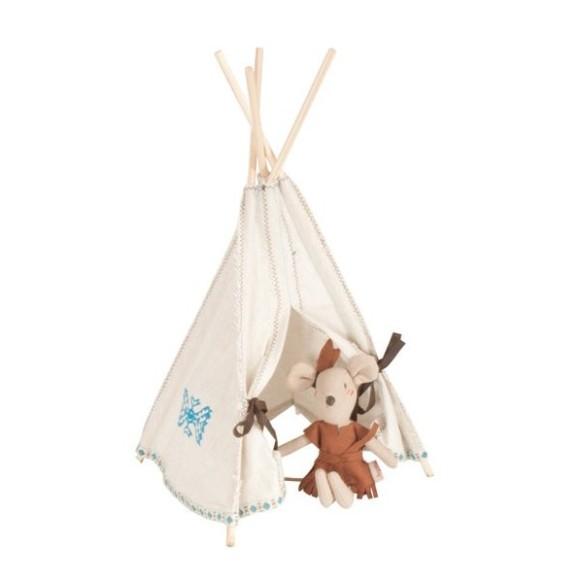 Cabaña de indios tippi, en Blaubloom