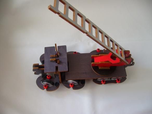 Construcción camión de bomberos Buildex (IV)