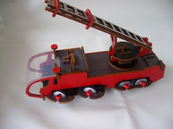 Construcción camión de bomberos Buildex (V)
