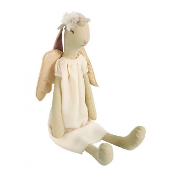 Muñeco conejita ángel en Blaubloom